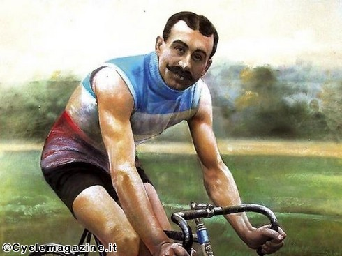 EMILE GEORGET CYCLISTE TOUR DE FRANCE 1907