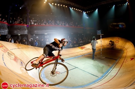 Nicolas Daumin from France performs during the Red Bull Mini Drome in Paris, France on December 10th 2011  // V. Curutchet/Red Bull Content Pool // P-20120217-06579 // Usage for editorial use only // Please go to www.redbullcontentpool.com for further information. //