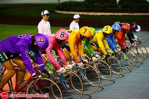 Keirin-starting