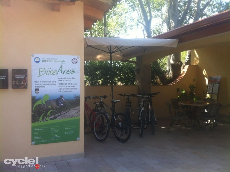 bike area arco naturale