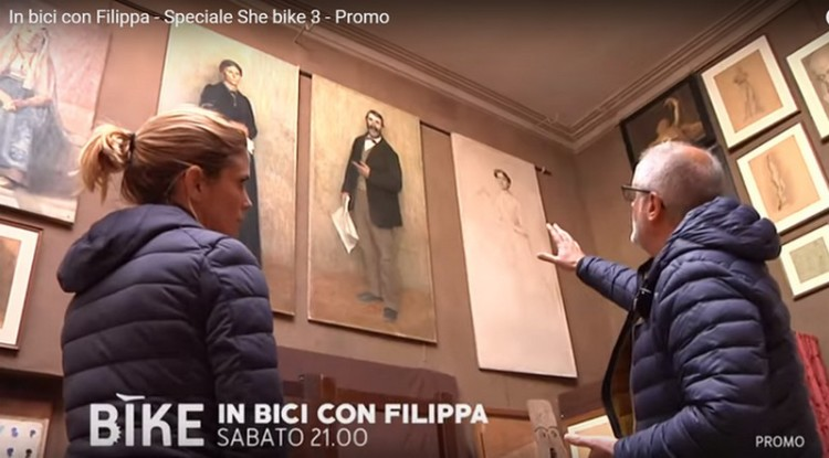 4 in bici con filippa